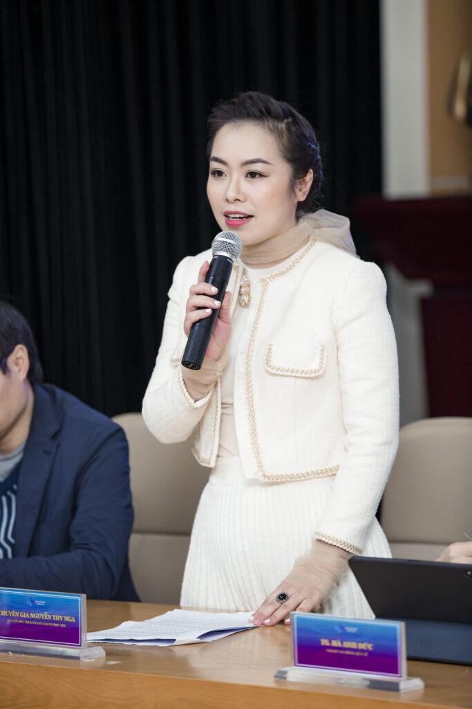 Chuyên gia Nguyễn Thy Nga - Tổng Giám đốc V-Startup