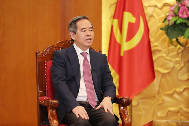 Đồng chí Nguyễn Văn Bình, Ủy viên Bộ Chính trị, Bí thư Trung ương Đảng, Trưởng ban Kinh tế Trung ương