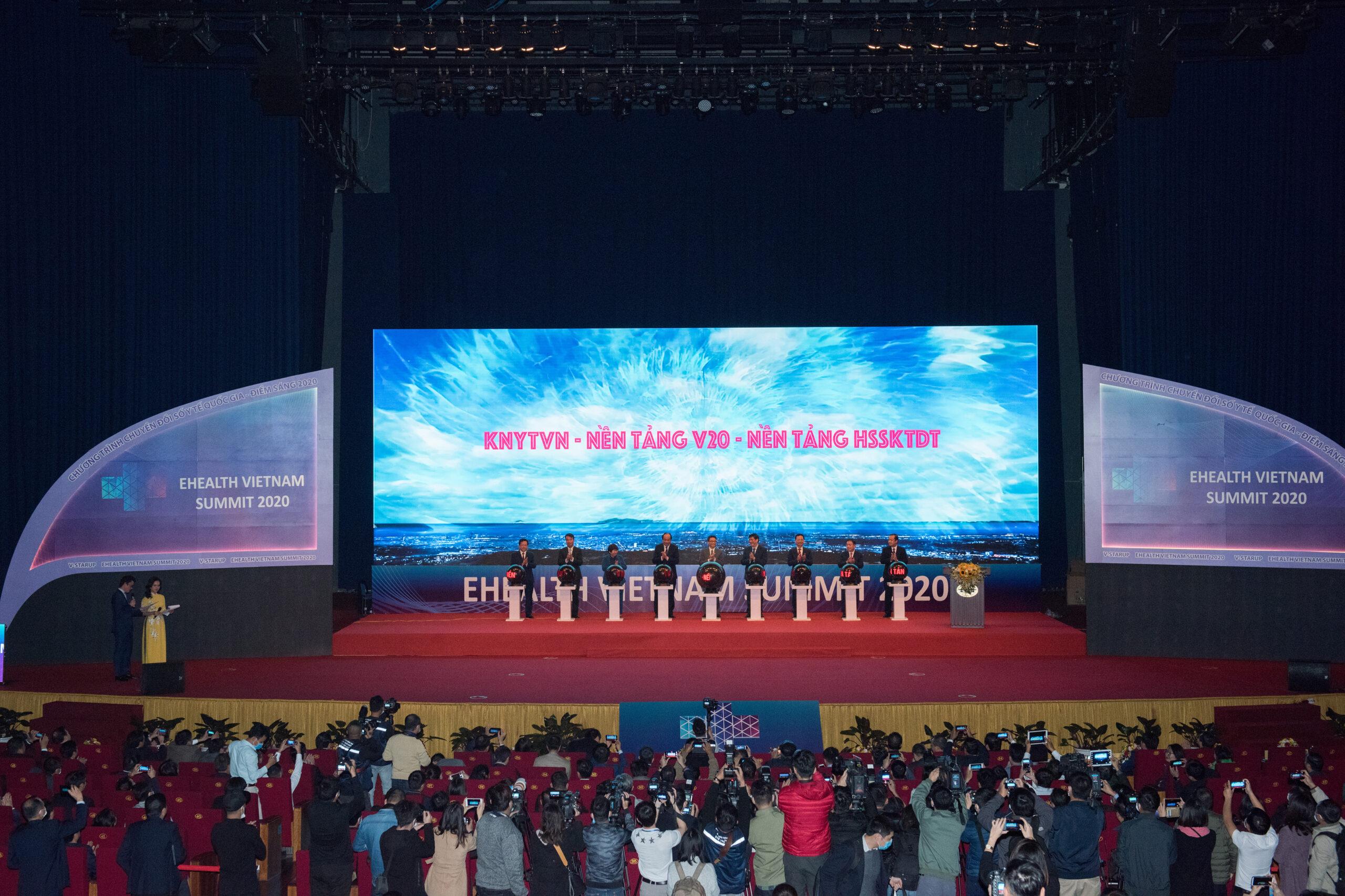 Điểm sáng Việt Nam 2020 Ehealth Vietnam Summit, các sự kiện là không gian tạo ra được nhiều thông điệp