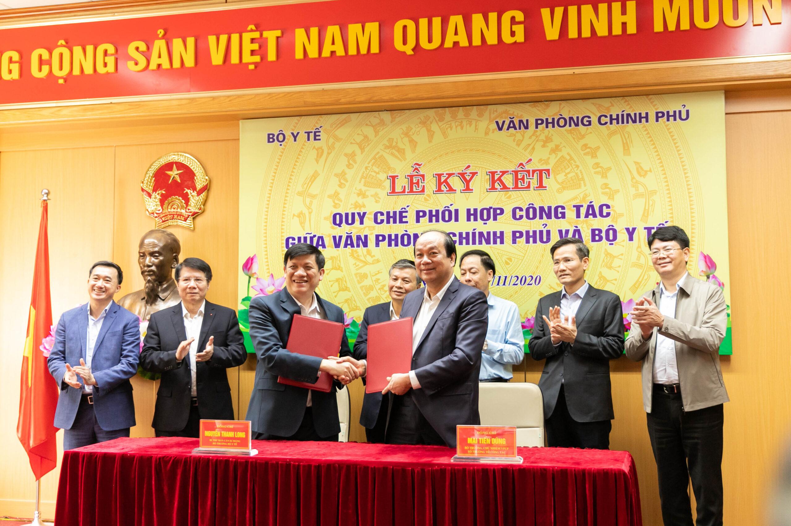 VPCP và Bộ Y tế đồng chủ trì chương trình Chuyển đổi số y tế quốc gia