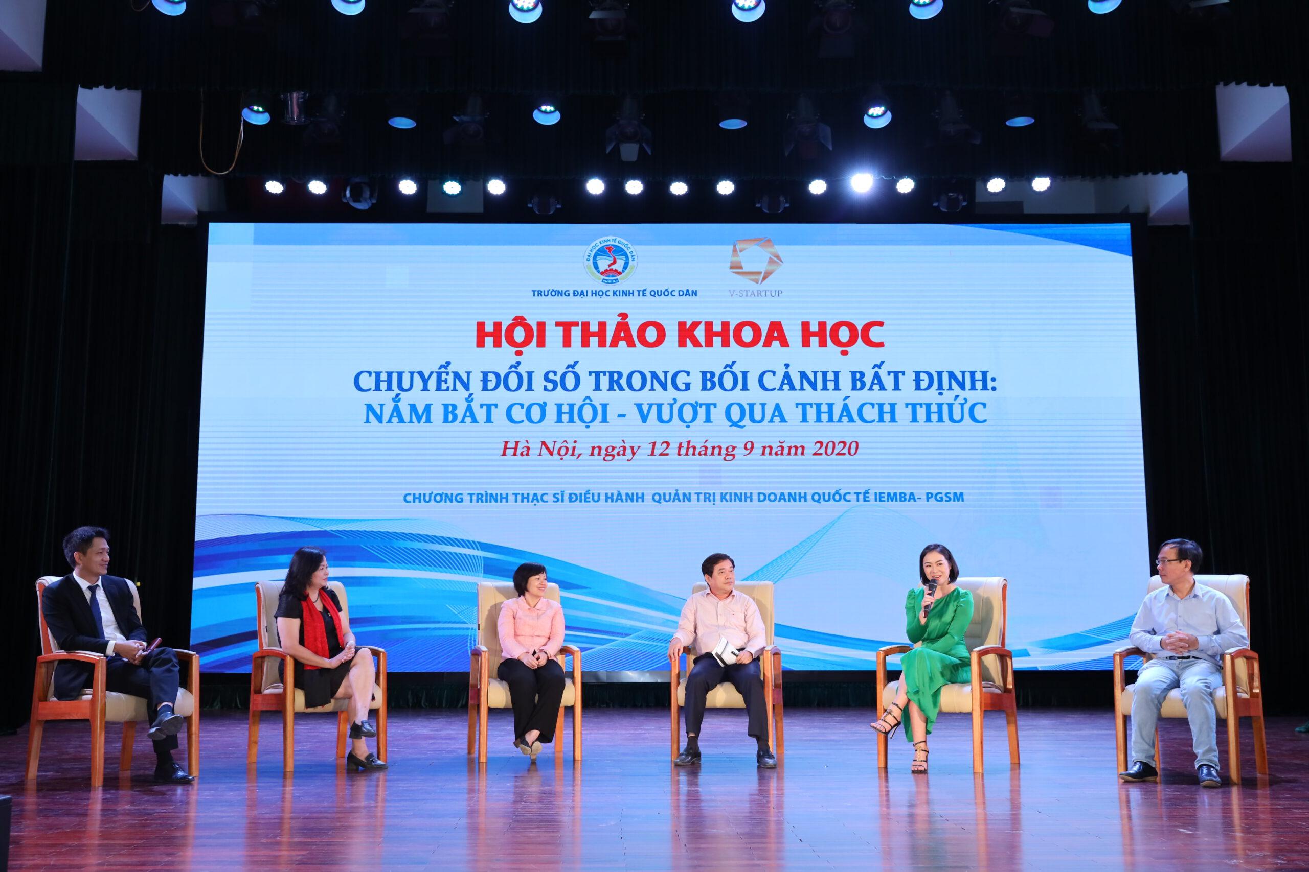 Các khách mời có mặt tại Hội thảo
