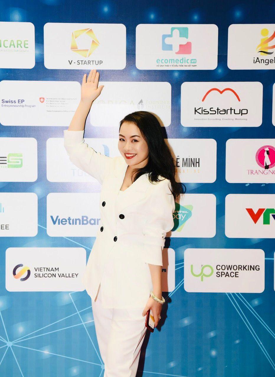 Bà Nguyễn Thy Nga - Trưởng làng công nghệ 4.0 của Techfest 2018